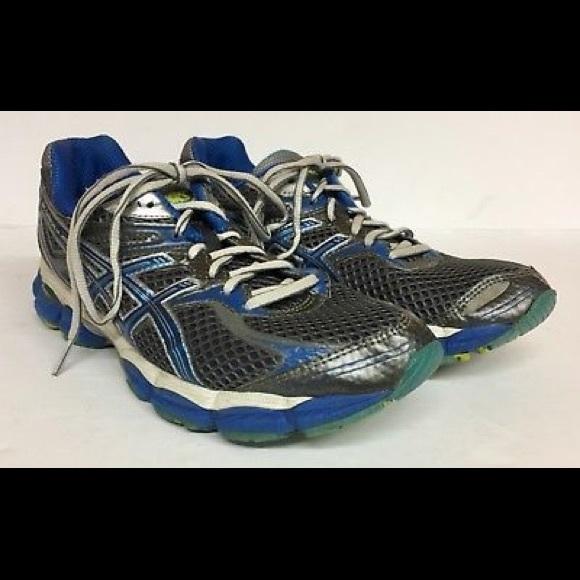 Asics Shoes - Asics Gel-cumulus Size 9 Athletic Shoes Gray Blue